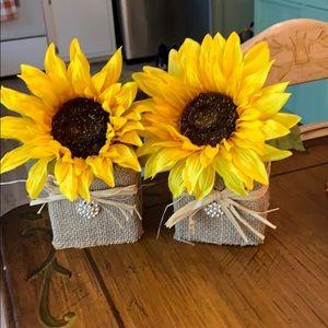 Small Single Sunflower 🌻 Arrangement for Fall!!!